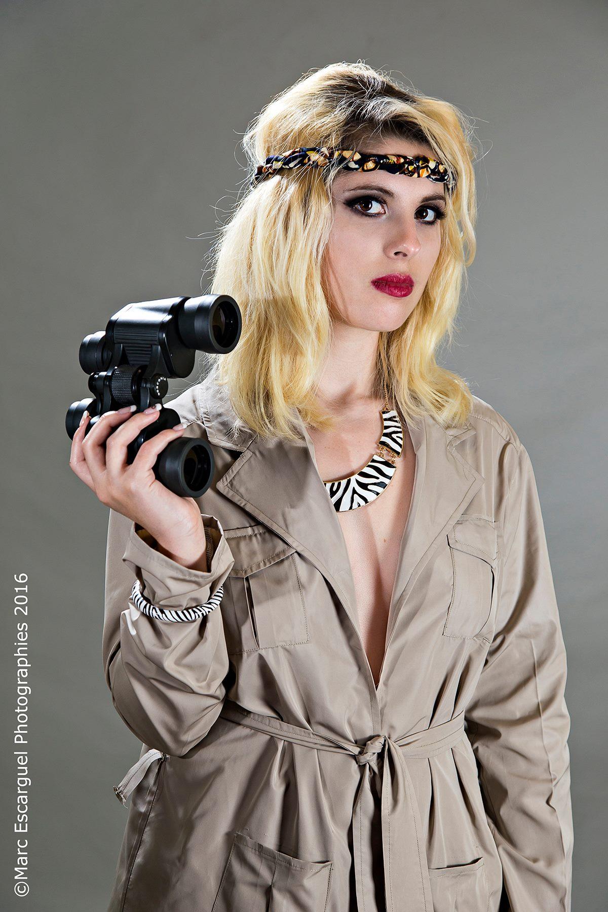 Shooting pour créatrice de mode